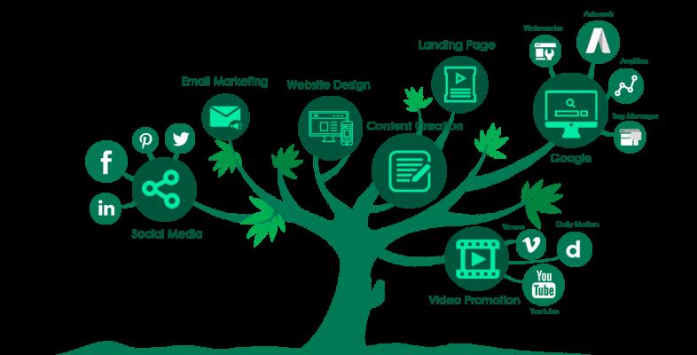 Internet Marketing Tree: Mô Hình Marketing Thú Vị