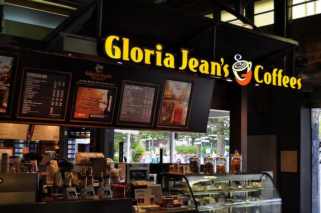 Gloria Jean's Coffees là thương hiệu cà phê nổi tiếng tại thị trường nước Úc