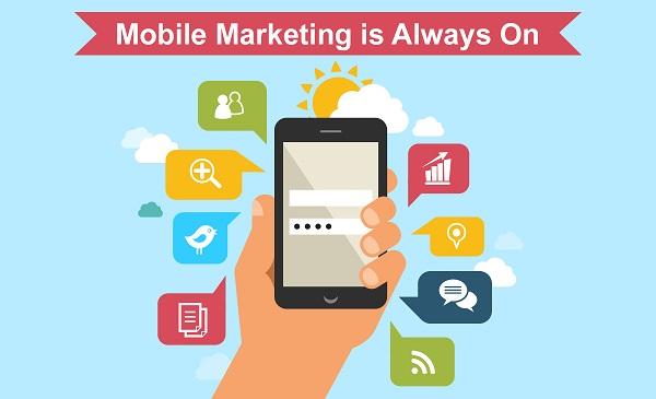 Mobile marketing và chiến lược quảng cáo đỉnh cao của chúng.