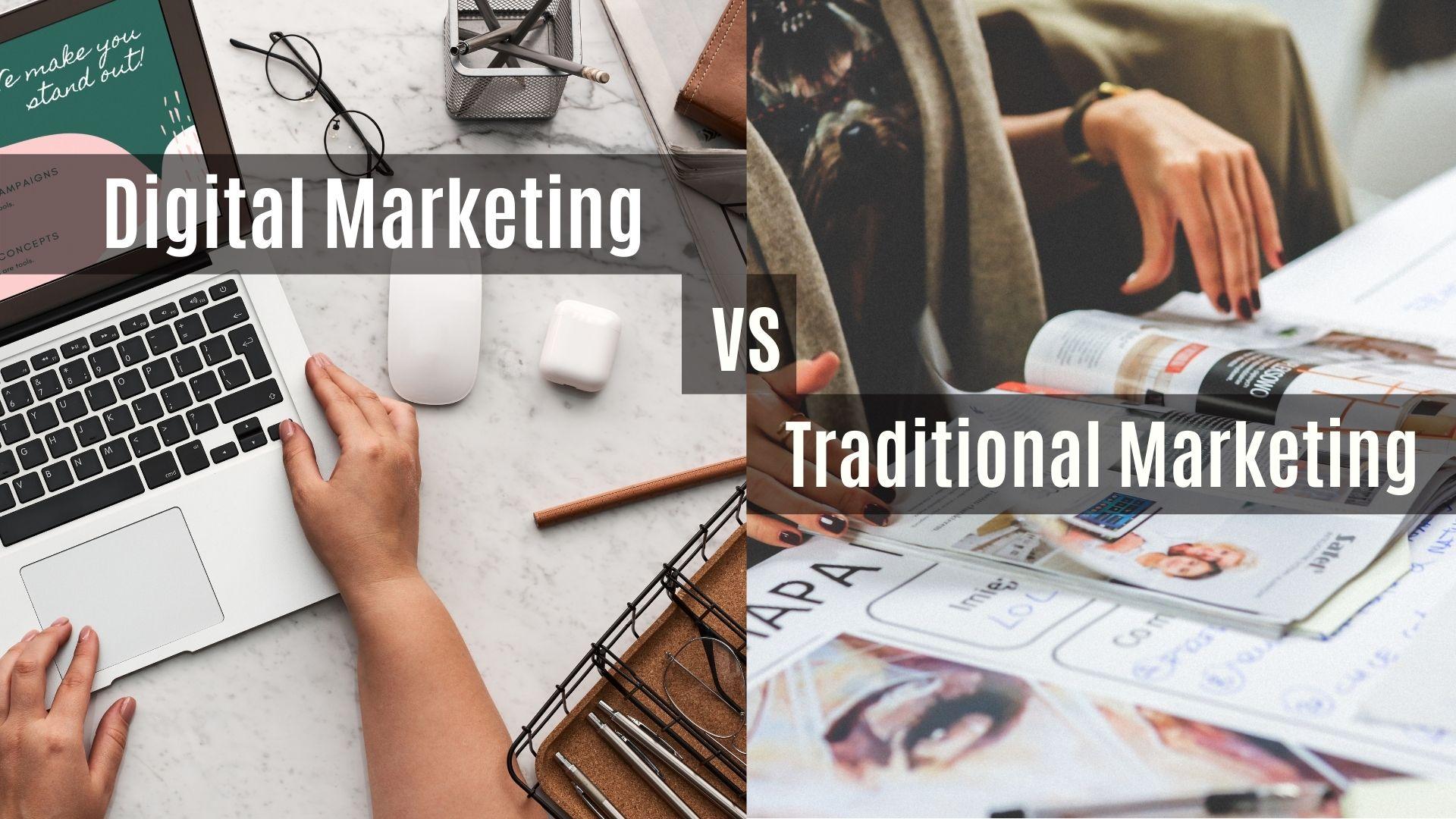 Sự giống nhau và khác nhau giữa hai hình thức marketing hiện đại và truyền thống