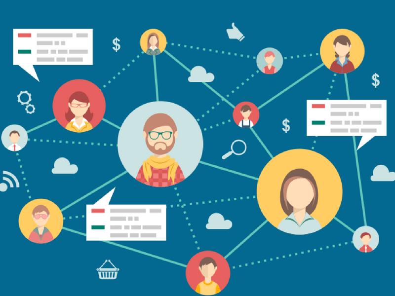 Đảm nhiệm vai trò tạo luồng thông tin xuyên suốt, kết nối lãnh đạo và nhân viên