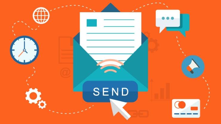 Email marketing dùng để giới thiệu sản phẩm và tư vấn cho người mua hàng