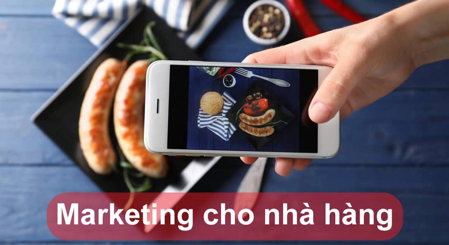 Kết hợp các hình ảnh và nội dung để quảng bá món ăn ngon cho nhà hàng