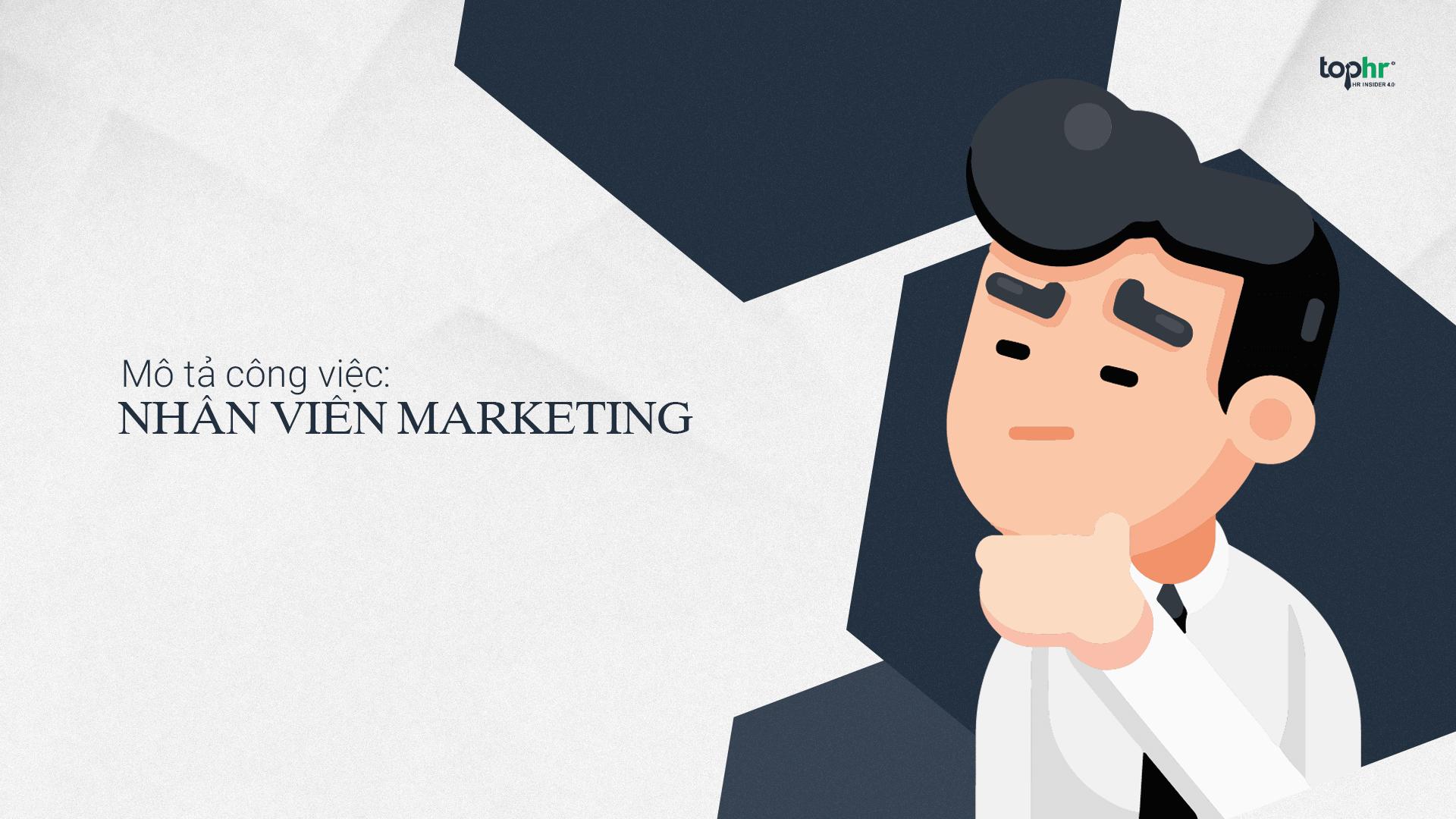 Mô tả công việc của Marketing specialist là gì?