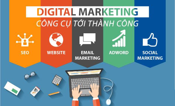 Phương thức hoạt động của online marketing cũng có điểm giống và khác so với digital marketing