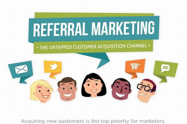 Referral marketing là gì?.